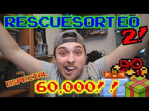 ESPECIAL 60.000 SUBS || RESCUESORTEO #2 !!