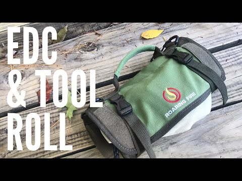 EDC & Tool Roll from Roaring Fire Gear: Organize and Transport Your Gear