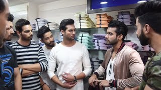 Mr India 2017 Chandigarh finalist visit Peter England Store In Chandigarh