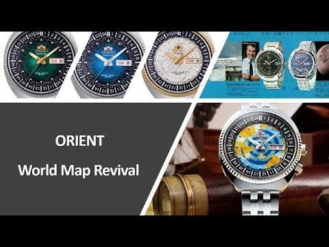 ORIENT WATCH World Map Series Revival
