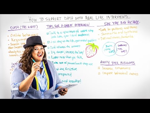 How To Support Data with Real-Life Interviews - Whiteboard Friday