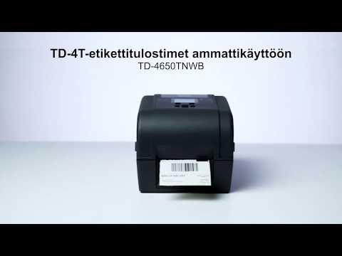 Brotherin TD-4T-tulostimet ammattikäyttöön |  TD-4650TNWB