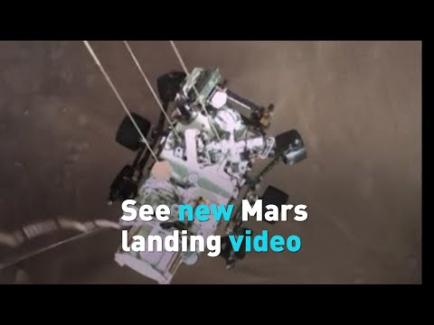 Watch NASA's latest Mars landing