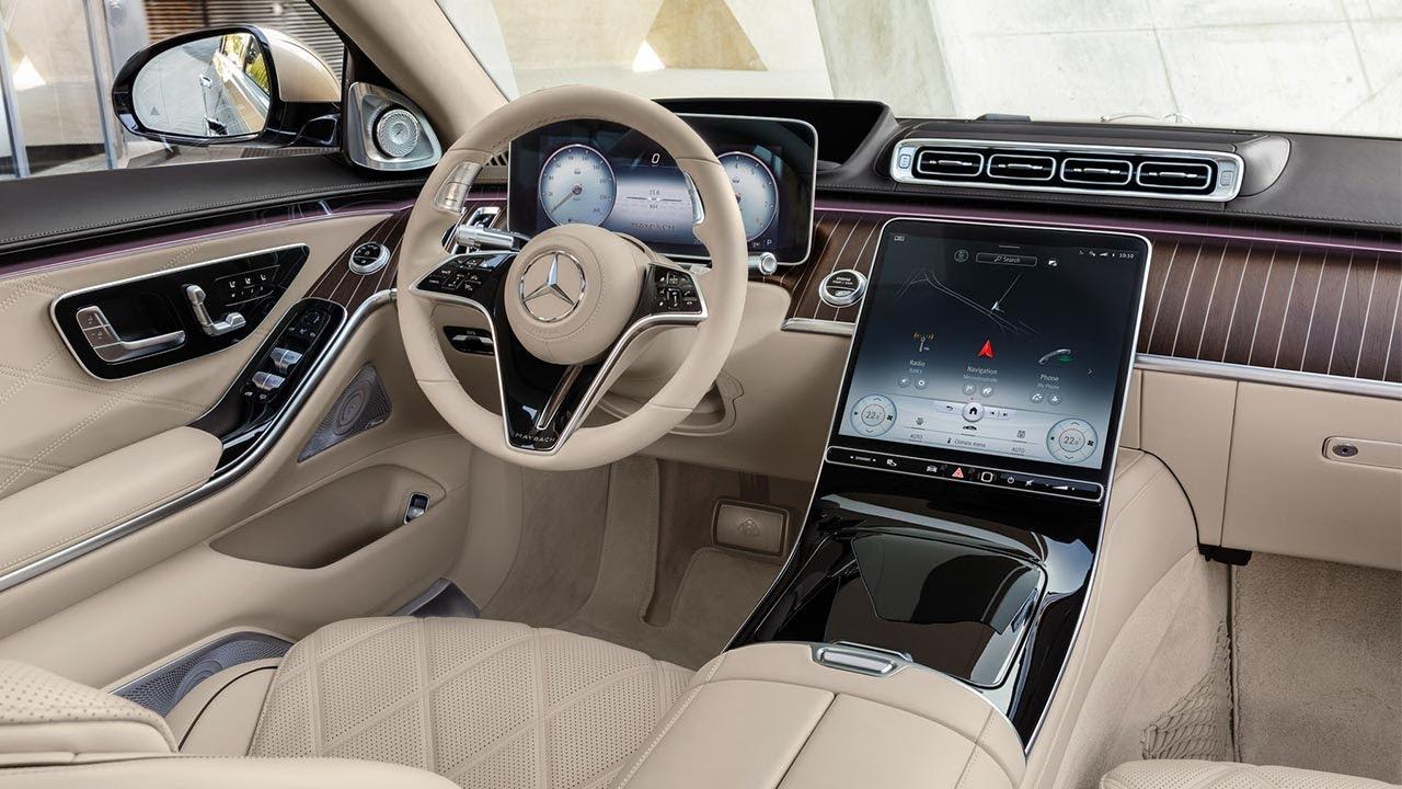 Xem Mercedes Maybach S Class 2021 vừa ra mắt | Dẫn đầu công nghệ và sang trọng