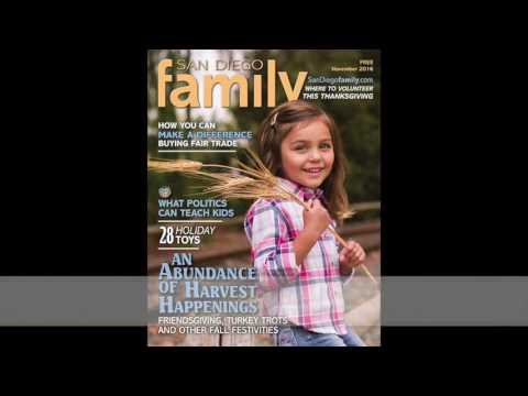 San Diego Family's Cover Kids Search