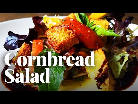 Heirloom Tomato and Cornbread Panzanella Is the Perfect Summer Salad