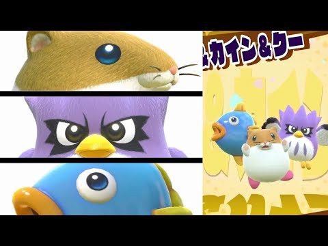 connectYoutube - Rick, Kine, & Coo Dream Friend Showcase   Kirby Star Allies