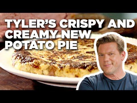 Tyler's Crispy and Creamy New Potato Pie | Food Network