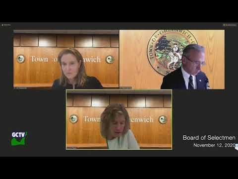 Board of Selectmen, November 12, 2020