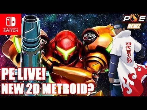 New 2D Metroid Rumors, Switch Tops 110K in South Korea + Q&A! | PE LIVE!
