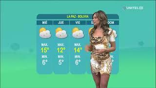 Así estarán las temperaturas en La Paz este martes