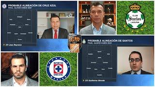 CRUZ AZUL VS SANTOS Aquí están las alineaciones de Reynoso y Almada para la vuelta   Futbol Center