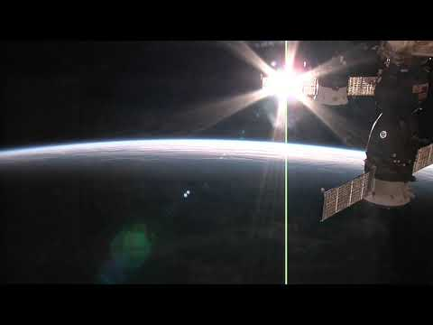 Perfect Sunset | Seen From The Space Station : Earth From Space