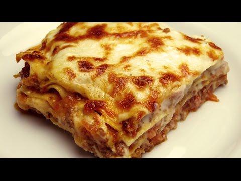 Рецепт лазаньи с соусом
