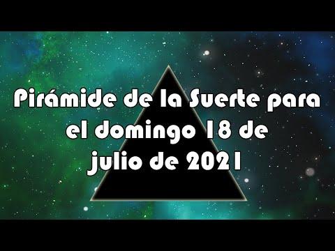 Lotería de Panamá - Pirámide para el domingo 18 de julio de 2021