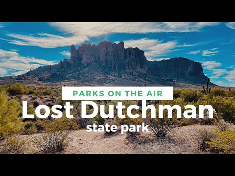 Lost Dutchman State Park on the Air