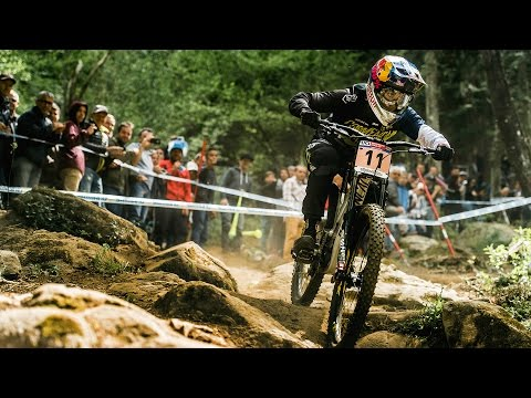 Downhill MTB Racing Highlights from Lourdes | UCI Mountain Bike World Cup 2017