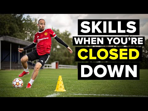Learn 5 football skills when you are closed down