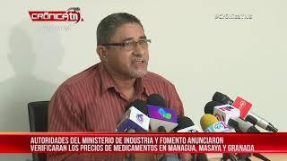 Incrementaran inspecciones en farmacias para evitar precios elevados - Nicaragua