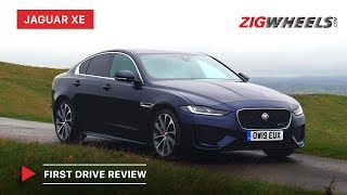 2020 Jaguar XE First Drive Review   Price in India , Features, Engines & More   ZigWheels