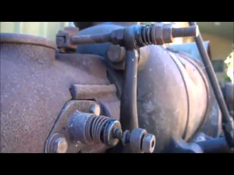 Video: How it works the motor oily - This engine oil - 1909 model year, 10 horsepower. It is an internal combustion s