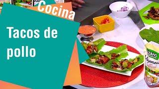 Receta de Secretos de Cocina de Unilever: Tacos de Pollo