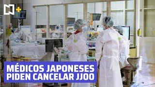 Sindicato de médicos en Japón pide al gobierno la cancelación de los Juegos Olímpicos