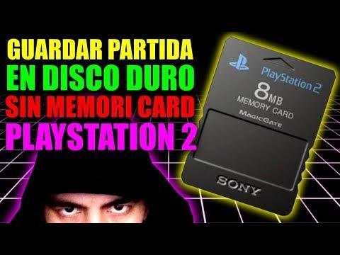 GUARDAR PARTIDA EN EL DISCO DURO DE LA PLAYSTATIO 2