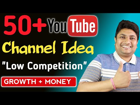 Top 50 YouTube Channel Ideas in 2021| Low Competition YouTube Niches for Fast Growth & Money