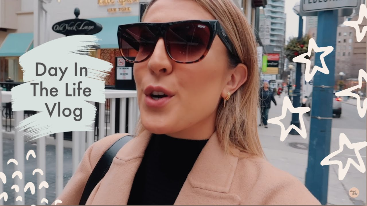 Day In The Life: Influencer Life in Toronto | Steph Sterjovski Jolly