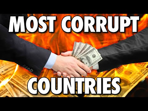 The Most Corrupt Countries In The World Right Now