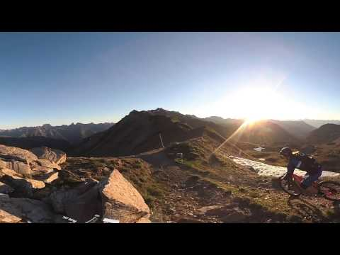 Garmin VIRB 360: Flowtrail Mountainbike Riding in Ischgl, Austria