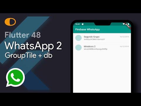 Flutter 48: WhatsApp 2