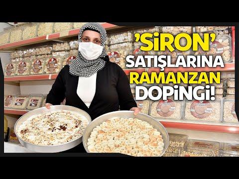 Gümüşhane'de 'Siron' Satışlarına Ramazan Doping