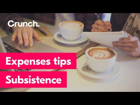 Expenses tips - Subsistence