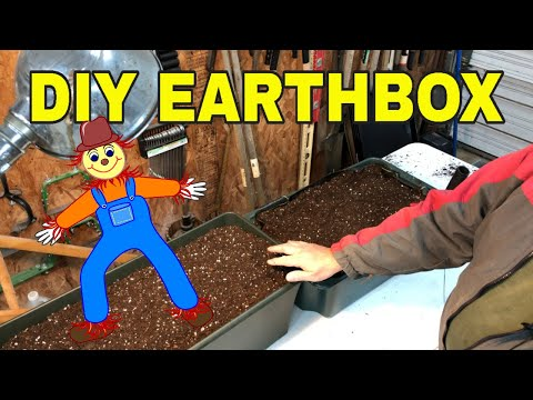 💪MAKE YOUR OWN EARTH BOX ✅ DIY EARTH BOX CLONE 🌱SIMPLE CONTAINER GARDENING 😎