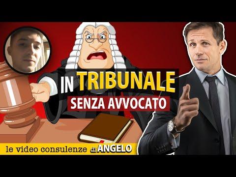 DIFENDERSI DA SOLI IN TRIBUNALE senza avvocato   avv. Angelo Greco