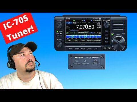New IC-705 Tuner mAT-705Plus - Ham Radio - TheSmokinApe