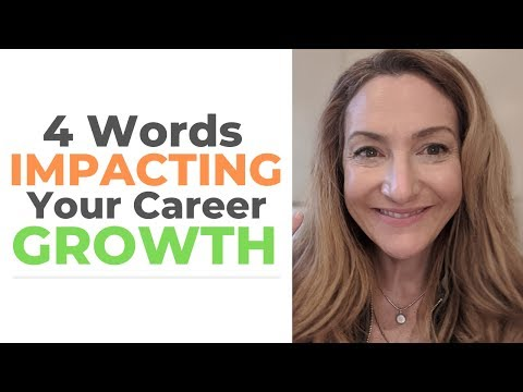 4 Words Impacting Your Career Growth photo