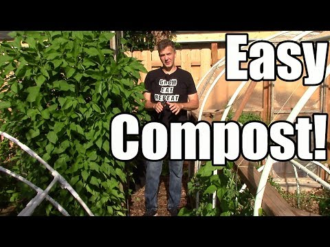 The Easiest Way to Compost Garden Waste