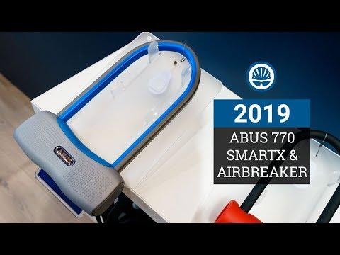 ABUS 770A SmartX Lock & AirBreaker Road Helmet