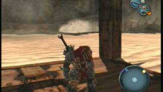Darksiders - Walkthrough - Third Temple - Crossing the Worm Pit (PART 32)