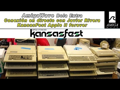Bola Extra - Conexión en directo con Kansasfest 2018, Apple II Forever.