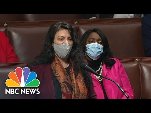 Rep. Tlaib Calls Trump 'Racist-In-Chief' As She Voices Support For Impeachment | NBC News