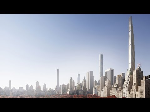 The Rise of New York's Super Skinny Towers   The B1M