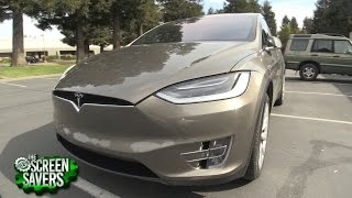 2016 Tesla X P90D Review