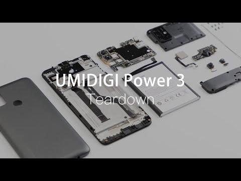UMIDIGI Power 3 Teardown: Great Power Inside!