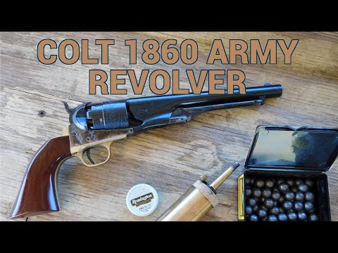 Colt 1860 Army Revolver Review