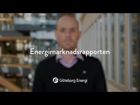 Energimarknadsrapporten, april 2020