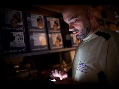 How a smartphone app helps this heating installer meet his biggest challenge